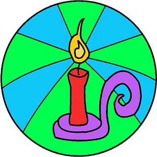 Tree Of Jesse Light Of The World Candle PNG