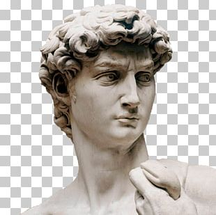Michelangelo David Marble Sculpture Galleria Dell'Accademia PNG