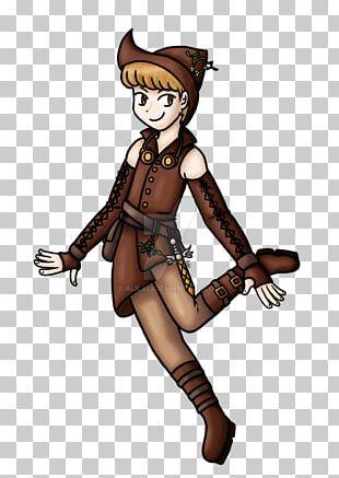 Cartoon Costume Design The Woman Warrior PNG