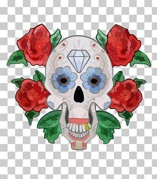 Calavera Skull PNG Images, Calavera Skull Clipart Free Download