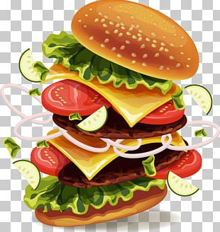 Hamburger Hot Dog Soft Drink Fast Food French Fries PNG