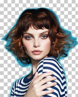 Layered Hair Beauty Cosmetics Hair Coloring PNG