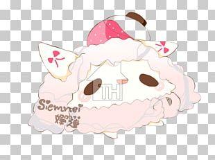 Cartoon Character Pink M PNG