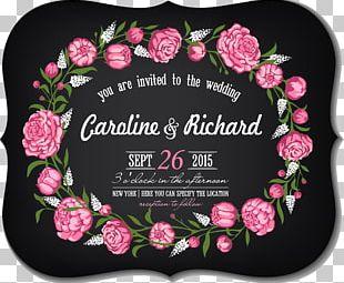 Wedding Invitation Card PNG