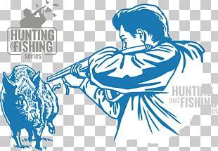 Wild Boar Hunting Euclidean Illustration PNG