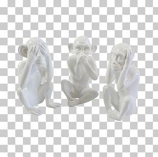 Figurine Three Wise Monkeys Sage Escape Team PNG