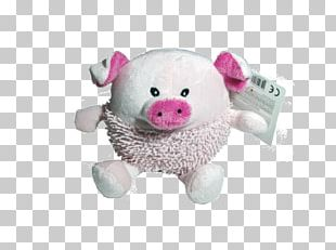 Pig Stuffed Animals & Cuddly Toys Plush Pink M Snout PNG