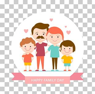 Family Day Illustration PNG