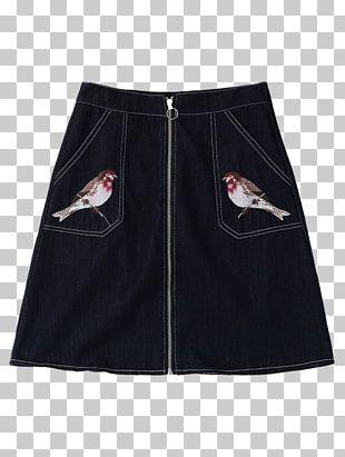 Denim Skirt Zipper Jeans PNG