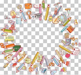 Pencil Paper School PNG