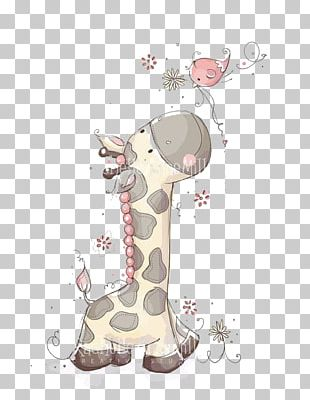 Giraffe Child Illustrator Illustration PNG