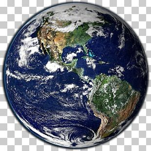 Earth The Blue Marble Outer Space Planet PNG