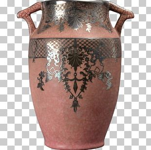 Vase Ceramic Weller Pottery Urn PNG
