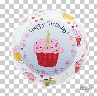 Cupcake Toy Balloon Birthday Cake PNG