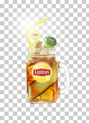 Iced Tea Cocktail Lipton Juice PNG