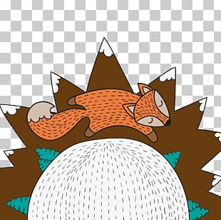 Mr. Fox Drawing New Year Illustration PNG