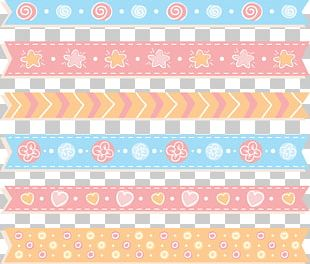 Cute Baby Ribbon Decoration PNG