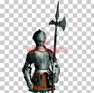 Middle Ages Plate Armour Body Armor Halberd Knight PNG