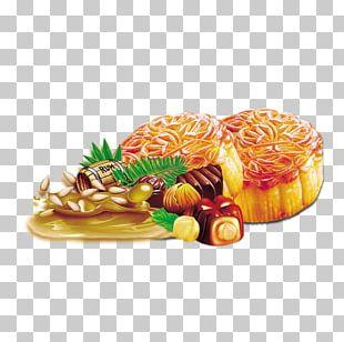Mooncake Chocolate Cake Mid-Autumn Festival PNG