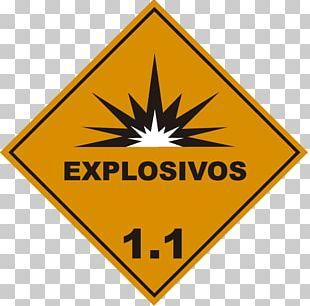 Dangerous Goods HAZMAT Class 9 Miscellaneous Cargo Explosive Material Label PNG