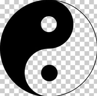 Yin And Yang The Book Of Balance And Harmony Taijitu Taoism Symbol PNG
