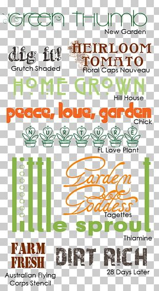 Community Gardening Kitchen Garden Scrapbooking PNG
