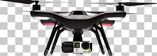 Parrot Bebop 2 Quadcopter Unmanned Aerial Vehicle 3D Robotics Parrot Bebop Drone PNG