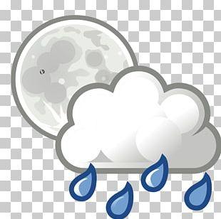 Rain Cloud Weather Thunderstorm Wind PNG