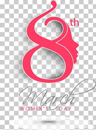 9 To 7 Fashion International Women's Day 8 March Woman Logo PNG