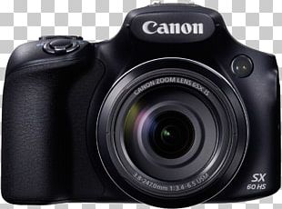 Point-and-shoot Camera Canon PowerShot SX50 HS Bridge Camera PNG