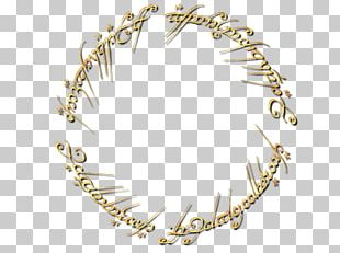 The Lord Of The Rings T-shirt One Ring Logo PNG