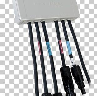 Electrical Cable Power Optimizer MC4 Connector Tigo Energy Solar Panels PNG