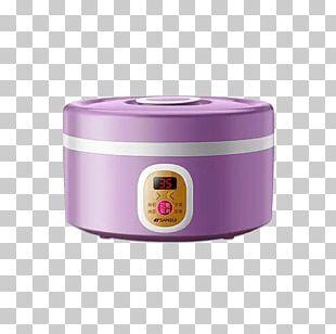 Yogurt Purple Glass Gratis PNG