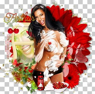 Feather Boa Supermodel Flower PNG