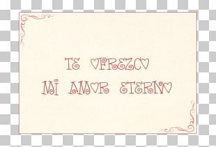 Paper Calligraphy Font Pink M Rectangle PNG