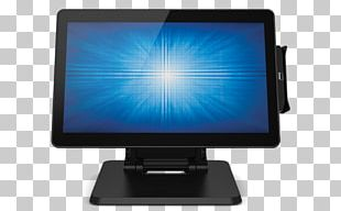 Point Of Sale Computer Monitors Self-service Touchscreen PNG