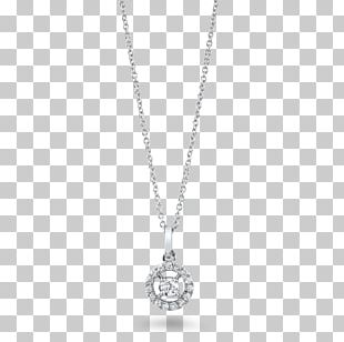 Charms & Pendants Jewellery Sterling Silver Necklace Diamond PNG