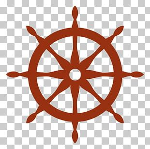 Ship's Wheel Steering Wheel Boat PNG