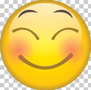 Smiley Emotion Blushing Emoji PNG