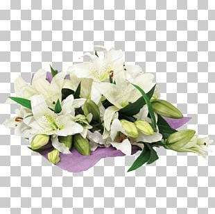 Flower Bouquet Cut Flowers Lilium PNG