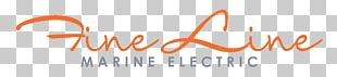 Fine Line Marine Electric Electrical Engineering Electricity Logo PNG