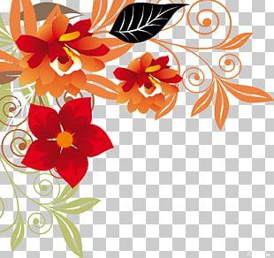 Floral Design Best Borders Flower PNG