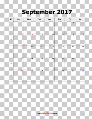 Calendar November September Template PNG