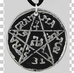 Locket Pentacle Pentagram Symbol Amulet PNG