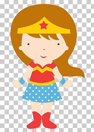 Wonder Woman Batgirl Superman Batman Superhero PNG