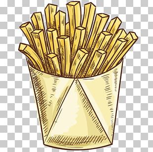 French Fries Fast Food Icon PNG