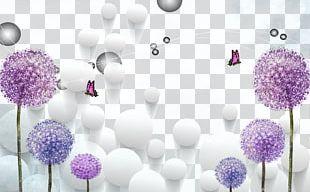 Common Dandelion Purple PNG