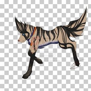 Mane Mustang Pony Pack Animal Dog PNG