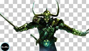 Loki Spider-Man Marvel Comics Rendering PNG