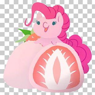 Pinkie Pie Apple Pie Ice Cream Mochi Applejack PNG